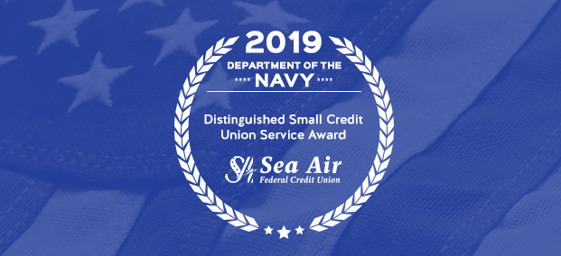 2019 NAVY Distinguished Small Credit Union Service Award